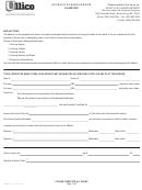 Form Lhfm-ull-1142 - Affidavit Of Survivorship