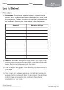 Kids Investigate Activity Recording Sheet