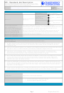 Hr - Standard Job Description Template
