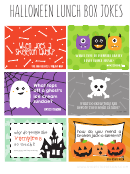 Halloween Lunch Box Jokes Template