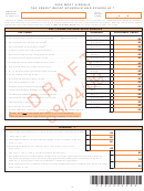 Form It-140 Draft - Schedule T And Tax Credit Recap Schedule - 2009