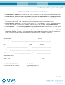 Electronic Funds Transfer Authorization Form