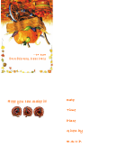 Come Share Thanksgiving With Us Invitation Template