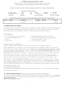 Enzymes In Mitochondria Chemical Reactions Lesson Plan Template