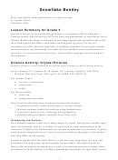 Crystal Pictures Lesson Plan Template