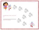 Help Boots Get To Dora Behavior Chart