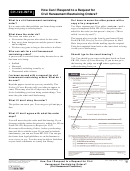 Form Ch-120 - Response To Request For Civil Harassment Restraining Orders