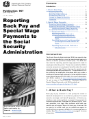 Publication 957 - Reporting Back Pay And Special Wage Payments To The Social Security Administration