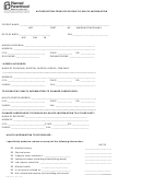 Form Hipaa-12 - Authorization Form For Release Of Health Information