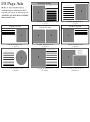 Student's Ad Poster Layout Templates