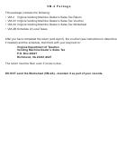 Form Vm-2 - Virginia Vending Machine Dealer's Sales Tax Return