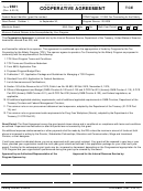 Form 9661 - Cooperative Agreement