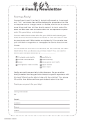 Air - A Family Newsletter Template