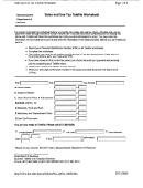 Sales And Use Tax Telefile Worksheet - Massachusetts Department Of Revenue
