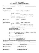 Soil Erosion Permit Worksheet - City Of Walker
