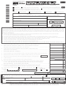 Forn Nyc-204ez - Unincorporated Business Tax Return For Partnerships - 2013