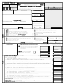 Form 482.0 R - Individual Income Tax Return - 2001