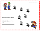 Help Mario Get To Luigi Color Behavior Chart