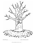Leaf On Tree Behavior Chart