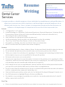 Sample Dental Assistant Resume Template