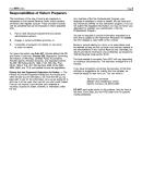 Form 3975 Instructions - Responsibilities Of Return Preparers