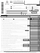 Form Nyc 204 - Unincorporated Business Tax Return - 2002