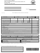 Form Cst-200cu - West Virginia Sales And Use Tax Return