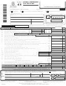 Form Nyc-4s - General Corporation Tax Return - 2002