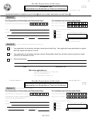 Form Dr-602 - Intangible Tax Application For Extension Of Time To File Return