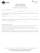 Form Ind - Native American Indian Certification