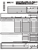 Form Nyc-115 - Unincorporated Business Tax Report Of Change In Taxable Income Made By Internal Revenue Service And/or New York State Department Of Taxation And Finance - 2013