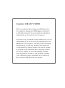 Form 941-x Draft - Adjusted Employer's Quarterly Federal Tax Return Or Claim For Refund - 2010