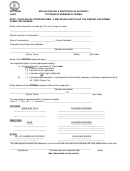 Form Scc759/921 - Application For A Certificate Of Authority To Transact Business In Virginia - 1997