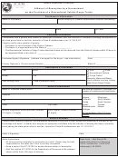 Form St-137rv - Affidavit Of Exemption By A Nonresident On The Purchase Of A Recreational Vehicle/cargo Trailer