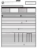 State Form 47393 - Application For Tanning Facility License