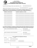 Application For Participation In The Underserved Areas Credit Program - Chicago Department Of Revenue