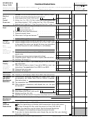 Form 1040 - Schedule A - Itemized Deductions - 2015