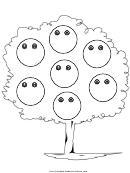 Tree With Smiles Behavior Chart