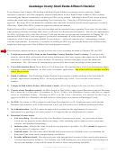 Guadalupe County Small Estate Affidavit Checklist