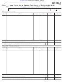 Schedules A-d (form Et-90.1) - New York State Estate Tax Return