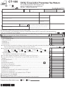 Form Ct-186 - Utility Corporation Franchise Tax Return - 2014