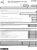 Form Ct-635 - New York Youth Works Tax Credit - 2014