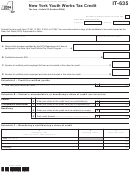 Form It-635 - New York Youth Works Tax Credit - 2014