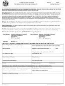 Form Pa-134 - Form Of Objection To Real Estate Filing Penalty