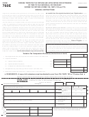 Form 760e - Virginia Tentative Tax Return And Application For Extension Of Time To File Individual Or Fiduciary Income Tax Return (forms 760, 760py, 763 And 770) - 1999
