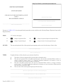 Form Mlpa-3 - Change Of Registered Agent And/or Registered Office