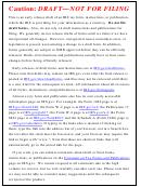 Form 940 Draft - Employer's Annual Federal Unemployment (futa) Tax Return - 2013