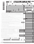 Form Nyc-204 - Unincorporated Business Tax Return - 2012