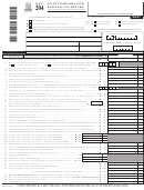 Form Nyc-204 - Unincorporated Business Tax Return - 2007
