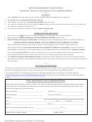 Driver Improvement Course Eligibility Affidavit